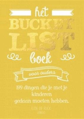 Terra Lannoo Het bucketlist boek voor ouders