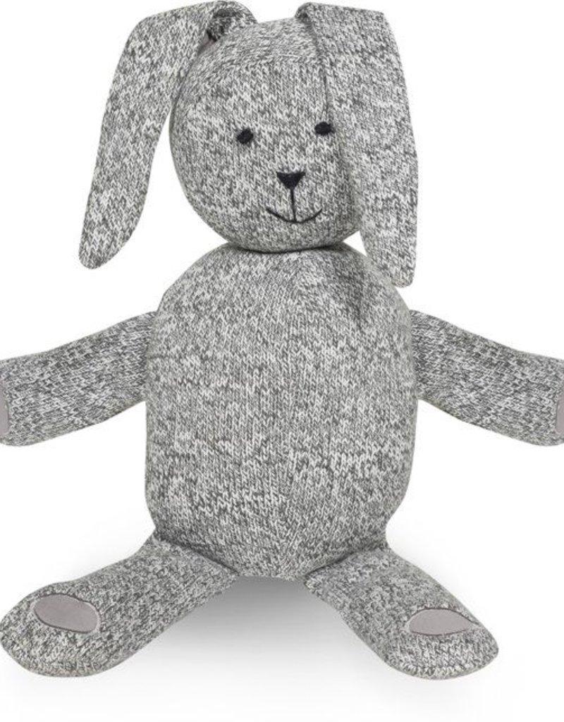 Jollein Knuffel Stonewashed knit bunny grey