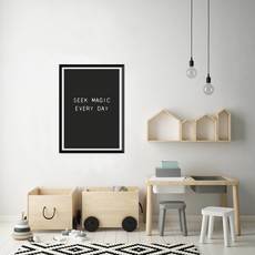 Let's Celebrate Poster A3: seek magic every day