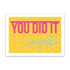 Let's Celebrate Kaart: You did it! Congrats