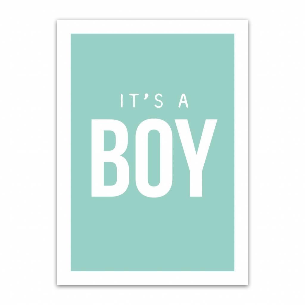 Let's Celebrate Kaart: It's a boy