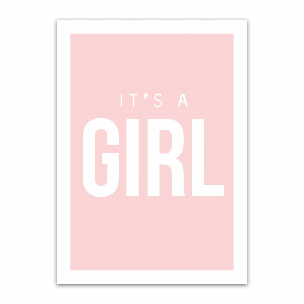 Let's Celebrate Kaart: It's a girl