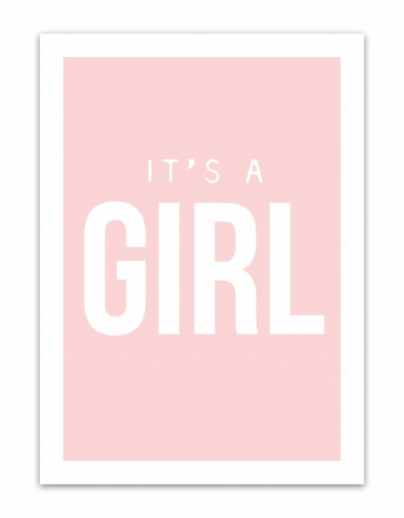 Let's Celebrate Kaart: It's a girl