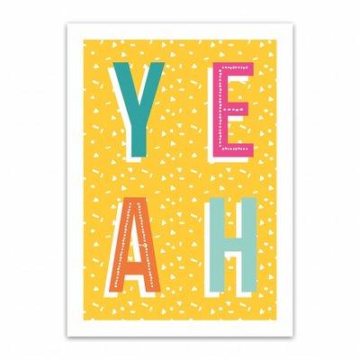Let's Celebrate Kaart: YEAH