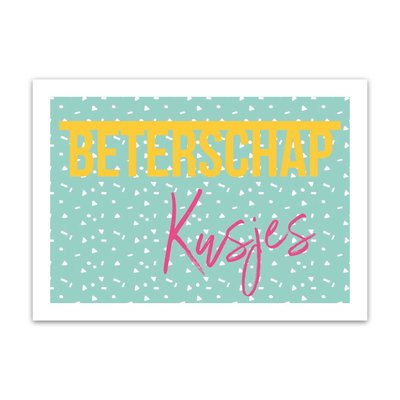Let's Celebrate Kaart: Beterschap