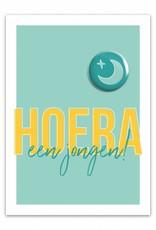 Let's Celebrate Kaart: Hoera Jongen