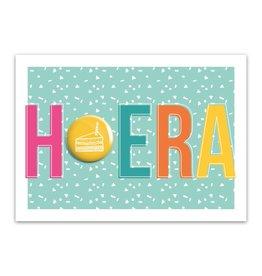 Let's Celebrate Kaart: Hoera