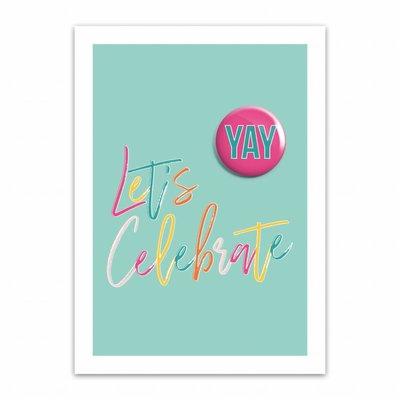 Let's Celebrate Kaart: Let's Celebrate
