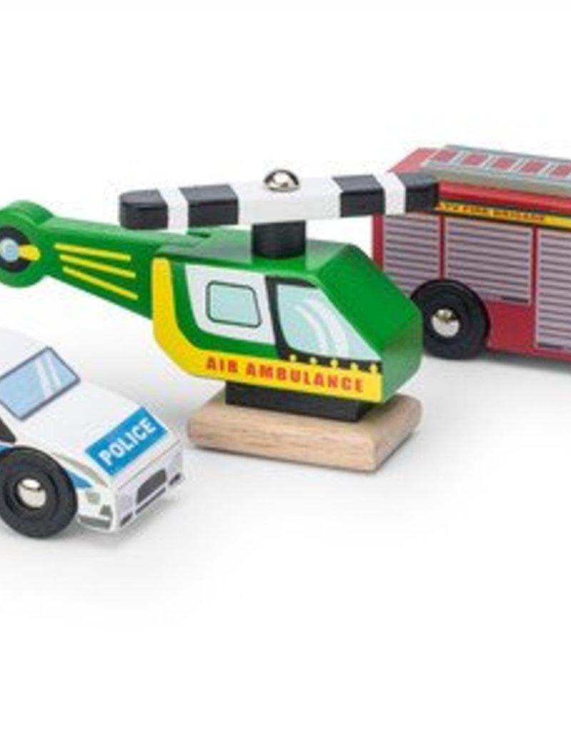Le toy van Houten hulpdiensten