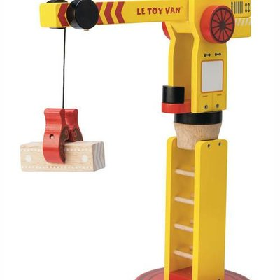 Le toy van Le Toy Van;  The Big Wooden Crane