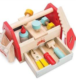 Le toy van toolbox hout