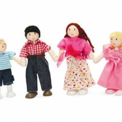 Le toy van Houten poppetjes familie