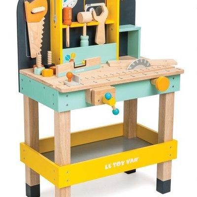 Le toy van Le Toy Van; houten werkbankje