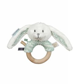 Little Dutch Ringrammelaar konijn - adventure mint