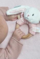 Little Dutch Ringrammelaar konijn - adventure roze