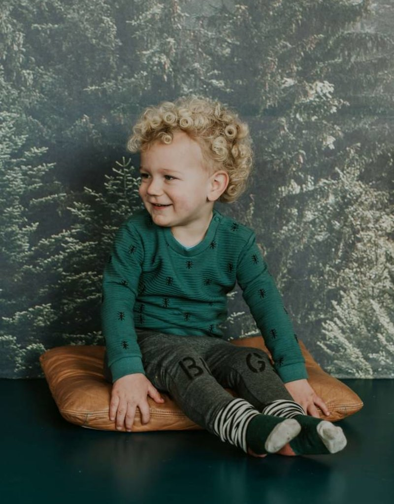 Sproet & Sprout Sweater ants allover groen