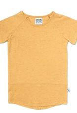CarlijnQ Basic yellow - t-shirt short sleeve