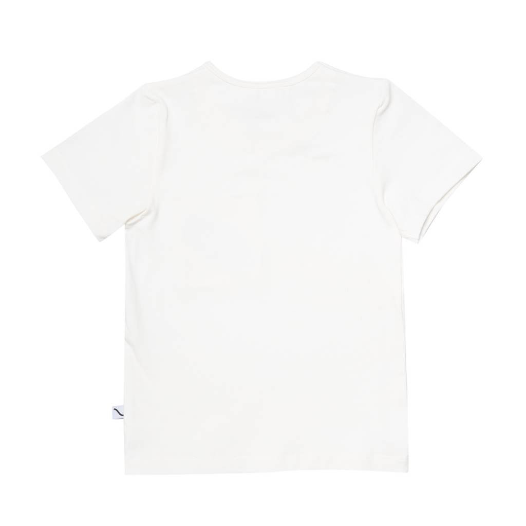 CarlijnQ Sandwiches - t-shirt off-white + embroidery