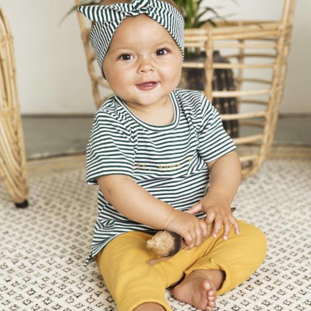 Little Indians Rib legging oker geel