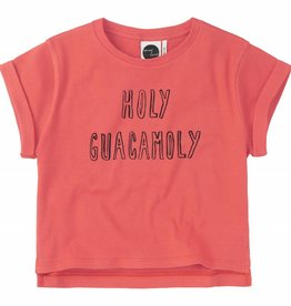 Sproet & Sprout Boxy T-shirt 'Holy Guacamoly' S19 95% Cotton & 5% Elastane