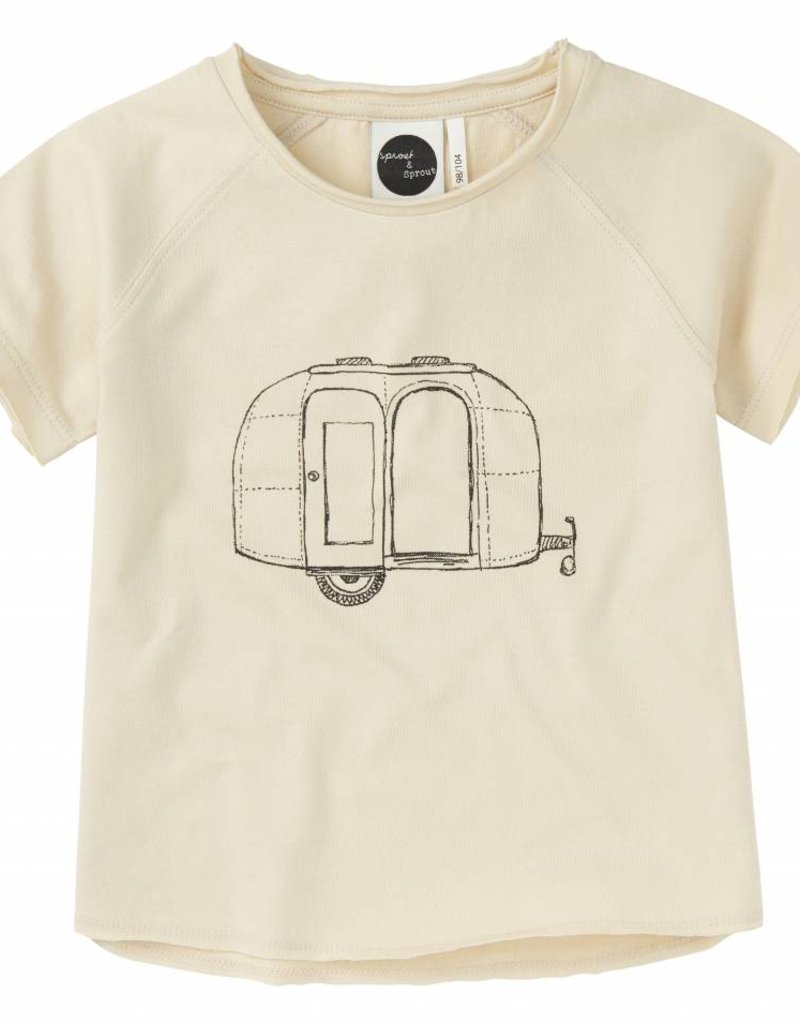 Sproet & Sprout Reglan T-shirt 'Caravan' S19 100% Cotton