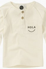 Sproet & Sprout T-shirt 'Long Sleeve 'Hola' S19 95% Cotton & 5% Elastane