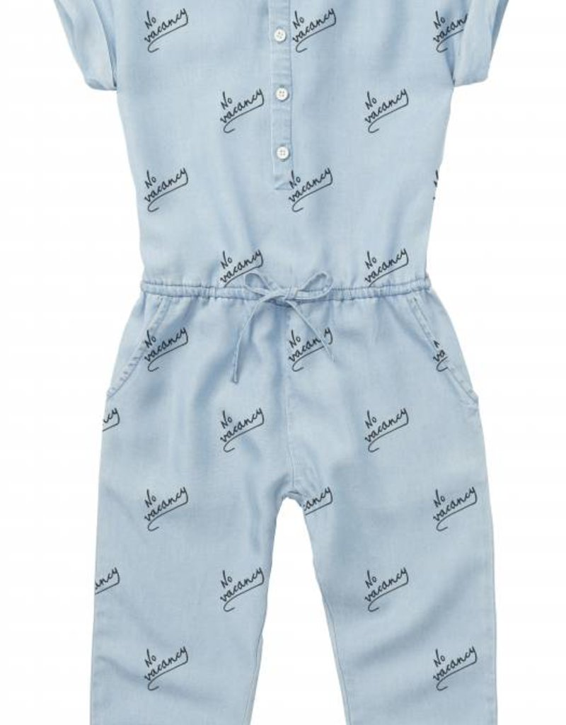 Sproet & Sprout Jumpsuit 'No Vacancy AOP' S19 100% Cotton