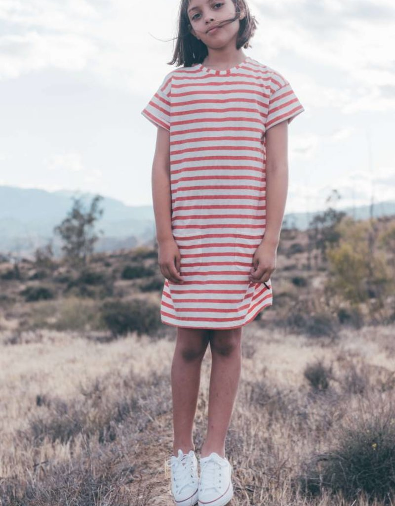 Sproet & Sprout T-shirt Dress 'Stripe' S19 100% Cotton