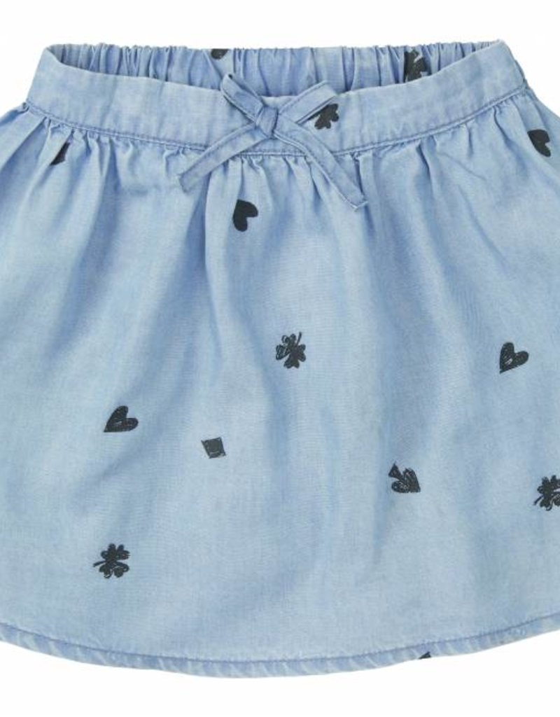 Sproet & Sprout Skirt 'Playing Cards AOP' S19 100% Cotton