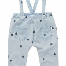 Sproet & Sprout Denim Pants 'Playing Cards AOP' S19 100% Cotton