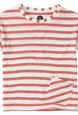 Sproet & Sprout T-shirt 'Stripe Red' S19 63% Cotton en 37% Polyester