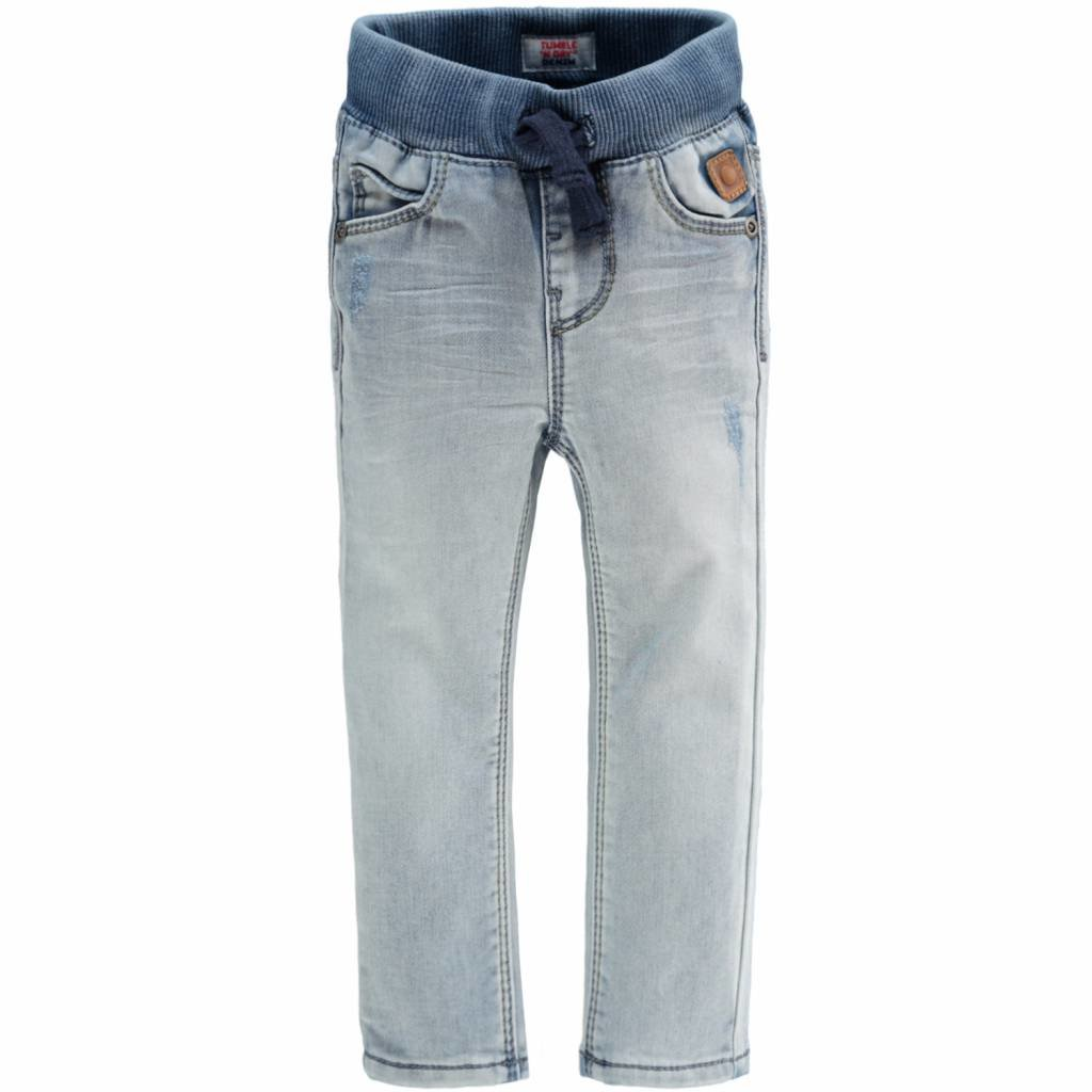 Tumble 'n Dry 30101.01377 TND-FRANC, 85% Katoen, 13% Polyester, 2% Elastan, Woven, Bo Broek Jeans  lang