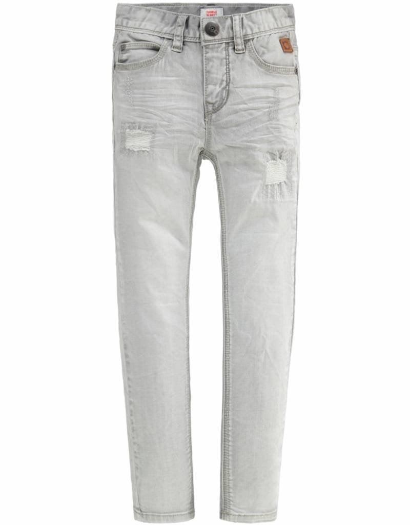 Tumble 'n Dry 30101.01385 TND-FRANC, 98% Katoen, 2% Elastan, Woven, Bo Broek Jeans  lang
