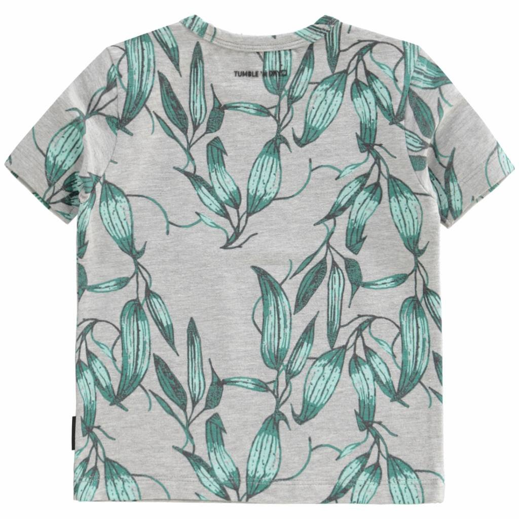 Tumble 'n Dry 30705.00445 Aidan, 95% Organic cotton, 5% Elastan, Knit, Bo T-shirt Km O-hals