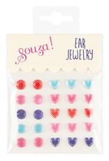 Souza Ear jewelry bolletje hartje