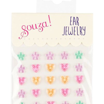 Souza Ear jewelry bloemetje hartje