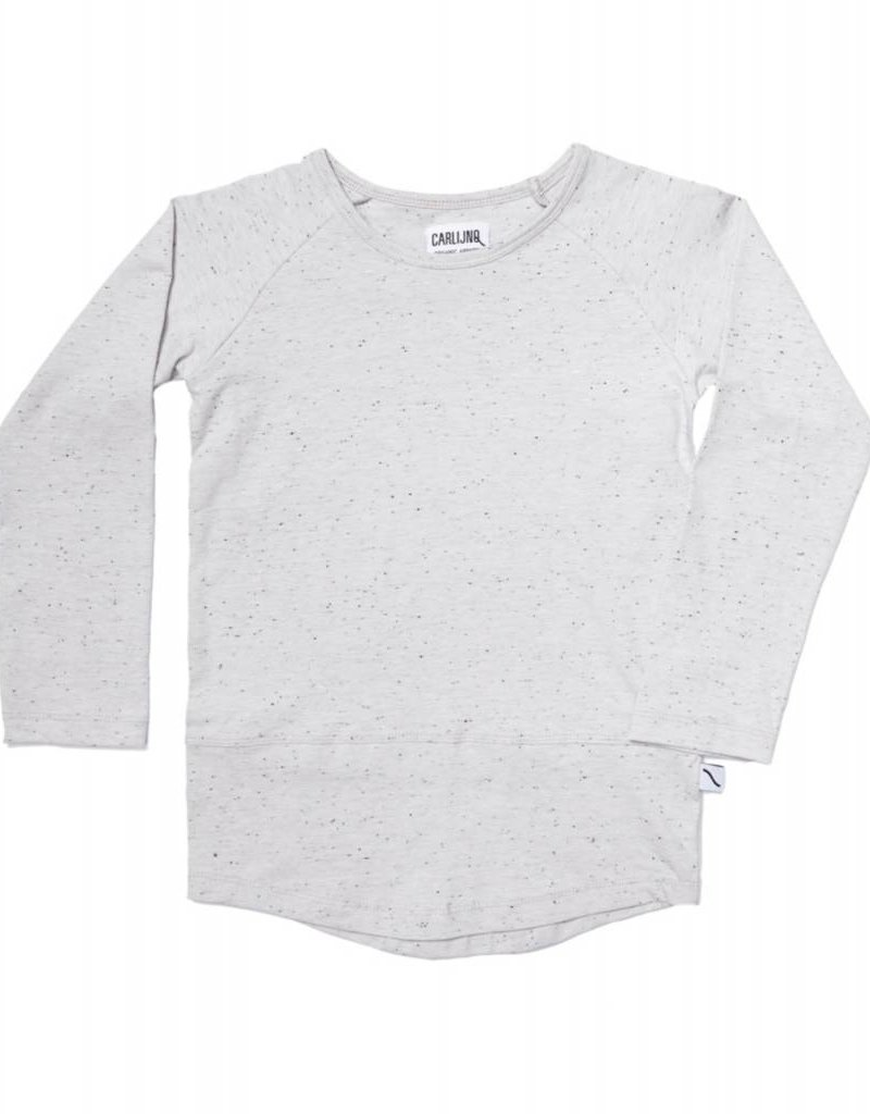 CarlijnQ Basic grey longsleeve