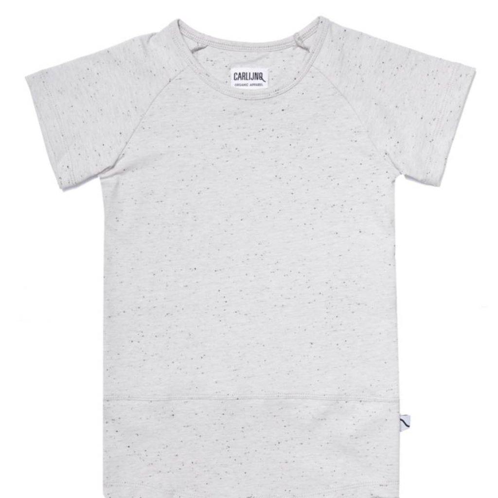 CarlijnQ Carlijn Q; basics grey - t-shirt short sleeve