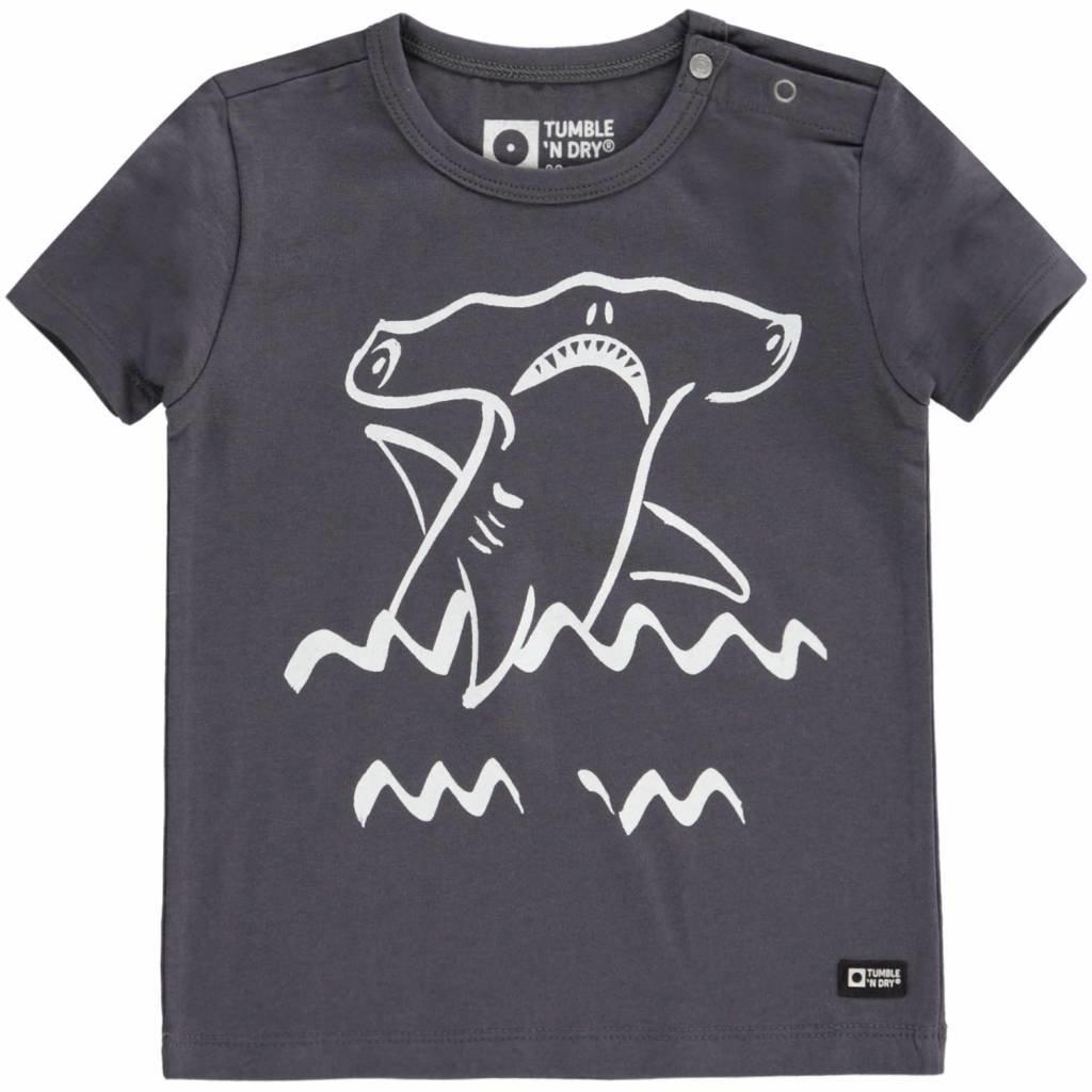 Tumble 'n Dry Tumble 'n Dry;  t-shirt grijs Atijs