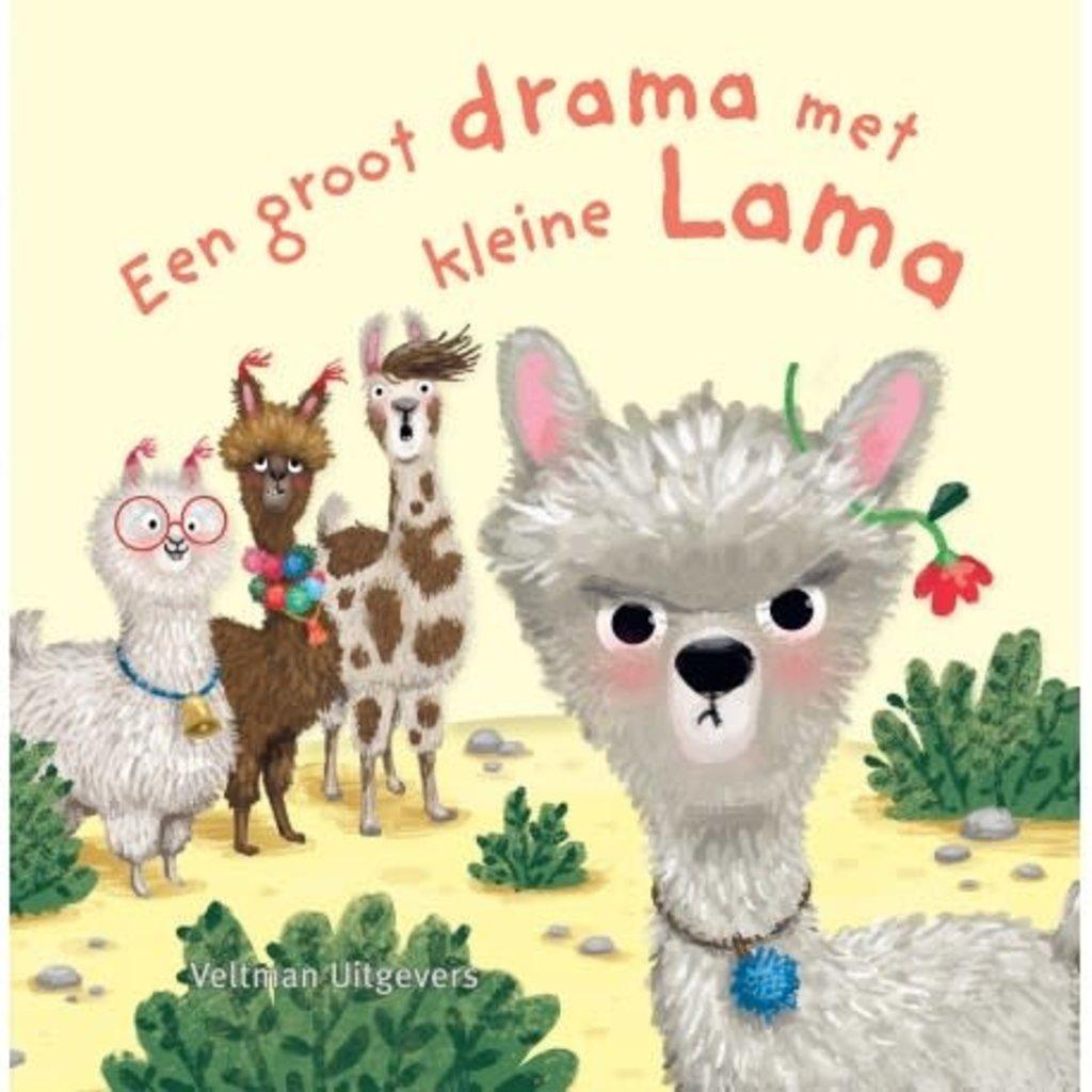 Veltman Uitgevers Een groot drama met kleine Lama