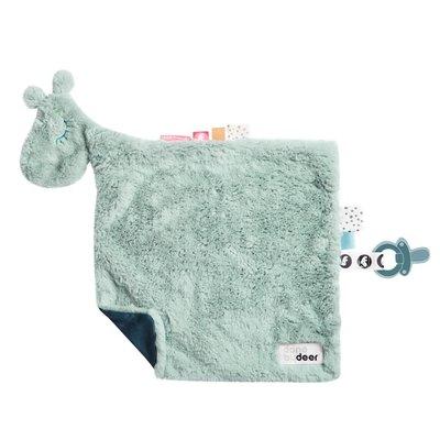 Done by Deer Done by Deer;  Comfort blanket, Raffi, blue