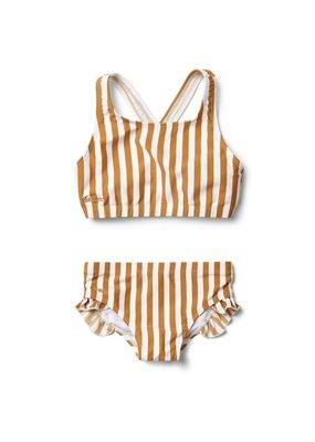Liewood Juliet – Bikini, stripe mustard/creme de la creme