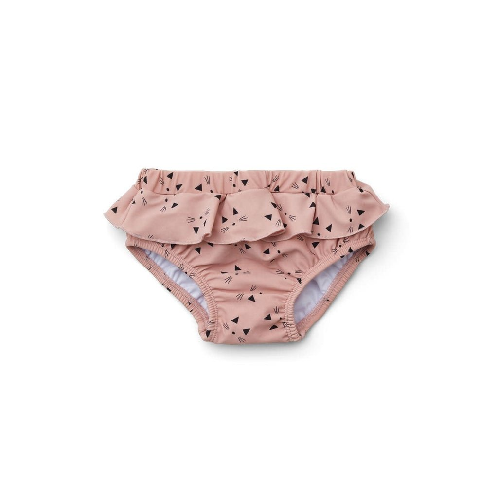 Liewood Elise – Baby girl swim pants, cat rose