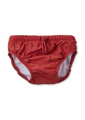 Liewood Frej – Baby boy swim pants, classic dot rusty