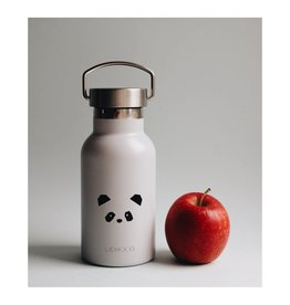 Liewood Anker – Water bottle, panda light grey