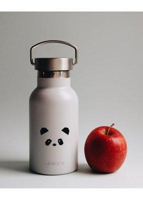 Liewood Anker – Water bottle, panda light grey