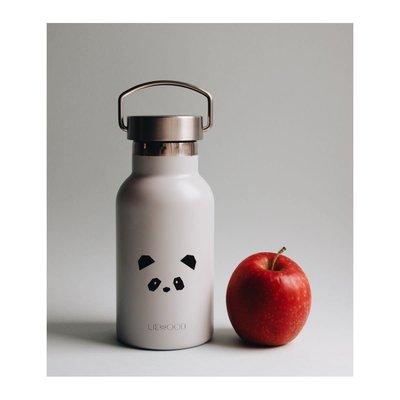 Liewood Liewood; water bottle Anker, panda light grey