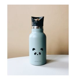 Liewood Anker – Water bottle, panda dusty mint