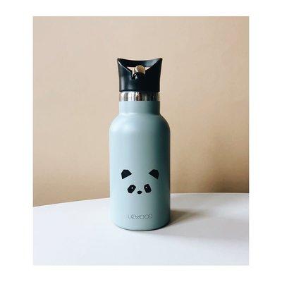 Liewood Anker – Water bottle, panda dusty mint