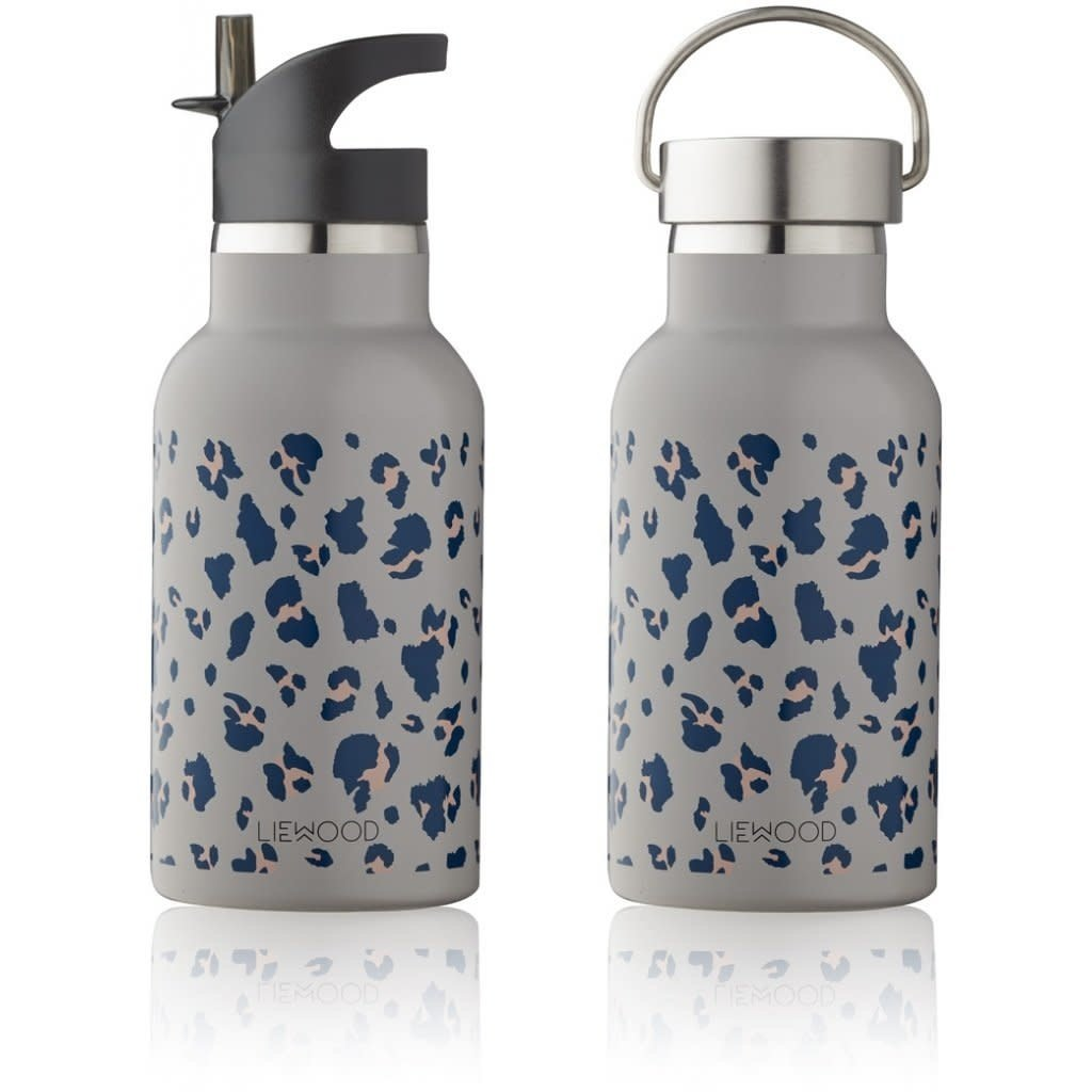 Liewood Anker – Water bottle, leo warm grey